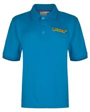 Beaver Tipped Polo Boy's Top Turquoise C26in