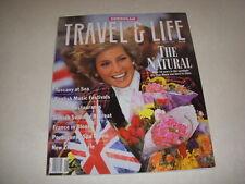 EUROPEAN TRAVEL & LIFE Magazine, June/July, 1990, PRINCESS DIANA COVER, SPAS!