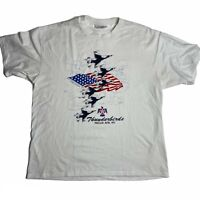 Thunderbirds Nellis AFB Vintage T Shirt Single Stitch America Air Force