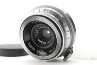 【Exc+++++】Nikon W-Nikkor・C 35mm f/3.5 S Mount Rangefinder Lens From Japan 340