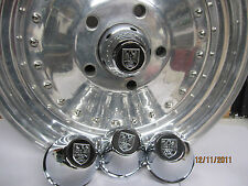 4 NEW CENTER CAPS CENTER LINE WHEELS, 5 LUG C-70 ORIGINAL FOR GM FORD MOPAR CARS