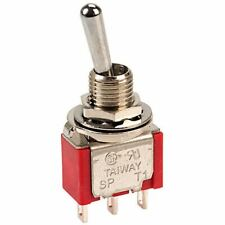 Taiway 100-SP3-T100B1M1QE Miniature Toggle Switch SPDT Centre Off