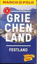 Griechenland Festland Pílion Máni Marco Polo Reiseführer & Extra-Faltkarte 2018