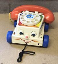 Fisher Price Pull Along Chatter Telephone Mattel 2009