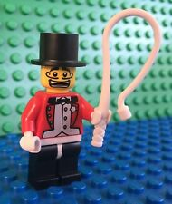 Lego RING MASTER Circus Ringmaster minifig City 8684 Minifigures Series 2