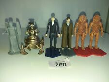 Doctor Who Figures Lot Bundle: 7 X 3.75 Inch Figures (One Boxed) 760