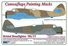 AML 1/48  Beaufighter Mk.VI - 2 Variant Camouflage Pattern Paint Mask # M4924