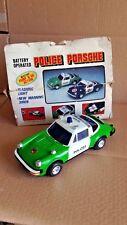 ALES PORSCHE 911 TARGA POLIZEI POLIZIA POLICE 1/24 S SC carrera turbo BATTERIA