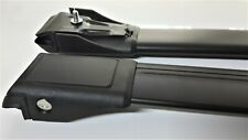 For Opel Frontera B 1998-2004 Lockable Aerodynamic Cross Bars Roof Rack BLACK