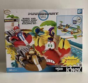 Mario Kart Nintendo Wii K'nex Super Donkey Kong Beach Race Boxed (Not Complete)