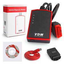 VDM WIFI Car Diagnostic Tool OBD2 All System Scanner Fr Windows PC/Android Phone