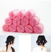 12Pcs/bag Magic Sponge Foam Cushion Hair Styling Rollers Curlers Twist Tool NTPK