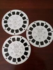 """""""Discovery Channel Dinamation"""" View-master #6019, 6029, 6039. Used condition."""