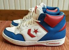 Converse Weapon Basketball Sneakers (Men's 11.5) ~ RED WHITE & BLUE