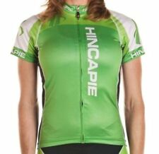 Hincapie Sportswear Women's Gran Premio Jersey Medium Limelight Cycling NEW