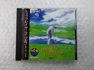 Top Player's Golf SNK Neo Geo CD Import Japan