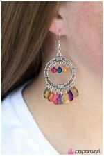 Cha-Cha-Cha multi colored earring fishhook earring NEW NIP