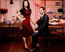 Elementary (Jonny Lee Miller & Lucy Liu) signed authentic 8x10 photo COA