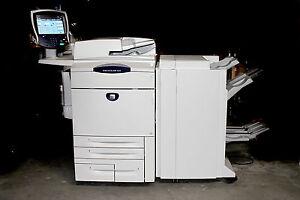 XEROX DocuColor 260 - Farblaser-Drucker, Kopierer, Scanner - gebraucht - 222.000