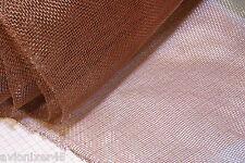 Kupferdrahtnetz / Kupfernetz Maschenweite 2mm     70x35cm             4287