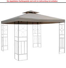 Pavillondach WASSERDICHT 310g/m² (Option) ERSATZDACH wasserfest PVC knapp ~ 3x3m