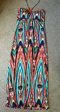 Love Women's Halter Maxi Dress, Sz. LG