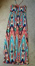Love Women's Halter Maxi Dress, Sz. LG