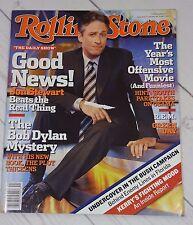 ROLLING STONE magazine #960  JON STEWART cover  Bob Dylan  Michael Stipe - R109