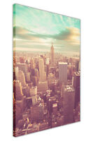 VINTAGE PHOTO AERIAL NEW YORK CITY CANVAS PRINTS HOME DECORATION ARTWORK PICTURE