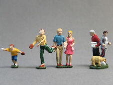 LIONEL PARK PEOPLE PACK FIGURES O GAUGE train boy dog couple man men 6-24191 NEW