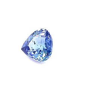 0.84ct Blue Sapphire Ceylon, Sri Lanka, Pear, Gemstone *Video*