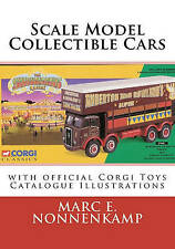 Scale Model Collectible Cars With Official Corgi Toys Catalogue Illustrations
