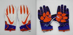 Nike Superbad SB4.5 Football Gloves NCAA Clemson Men's 2XL
