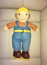 Official 2001 Born to Play Bob the Builder Pyjama Case Soft Toy