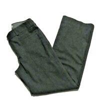 Banana Republic Women's Size 8 Dress Pants Martin Fit Boot Cut Lined Wool Blend