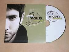 CD PROMO 1 TITRE / FABRICE MAUSS / C'EST LA VIE / TRES BON ETAT