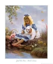 Just For You by Mark Arian Art Print Girl Dog Puppy Child Decor Poster 20x24