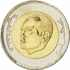 [#88847] MOROCCO, 5 Dirhams, 2011, KM #140, MS(63), Bi-Metallic, 25, 7.53