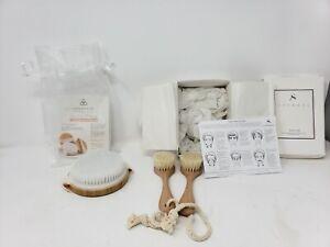 Lot NEW Alexandra Soveral Facial Brushes & Cosmedix Dry Body Brush