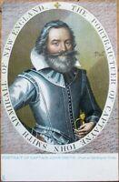 Captain John Smith 1908 Raphael Tuck Jamestown Postcard