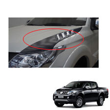 Mitsubishi L200 Triton on 2015 2016 - 2017 + Side Bonnet Scoop Cover with Chrome