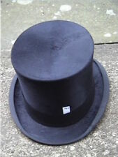 Antique Black Rowans, Glasgow & Birmingham Silk. Top Hat Sz 7 ..