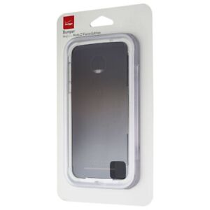 Verizon Bumper Cover for the Motorola Moto Z2 Force Smartphone - White / Clear