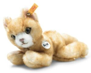 Steiff Mimmi the kitten - collectable ginger plush cat / 14cm - 099236