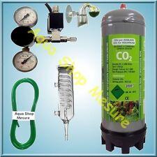 Kit CO2  jusqu'à 240 Litres. Bouteille compatible JBL ! A-R Métal !