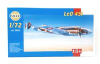 SMER Modellbau Kunststoff Modellbausatz Militär 1:72 Flugzeug Le0 451