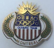 1976 USA Olympic Team Montreal Metal Badge Pin - Olympic Games