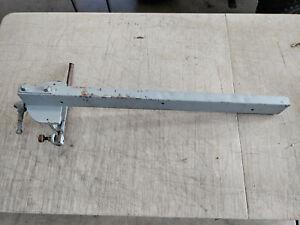"Vintage Walker Turner Table Saw Micro-adjust Fence Fits 27"" Table Top"