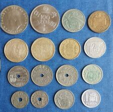 Monedas pesetas centimos España, Republica, Franco, Juan Carlos, numismatica