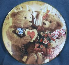 Sweethearts Collector Plate Bialosky & Friends Hamilton 1993 Teddy Bears